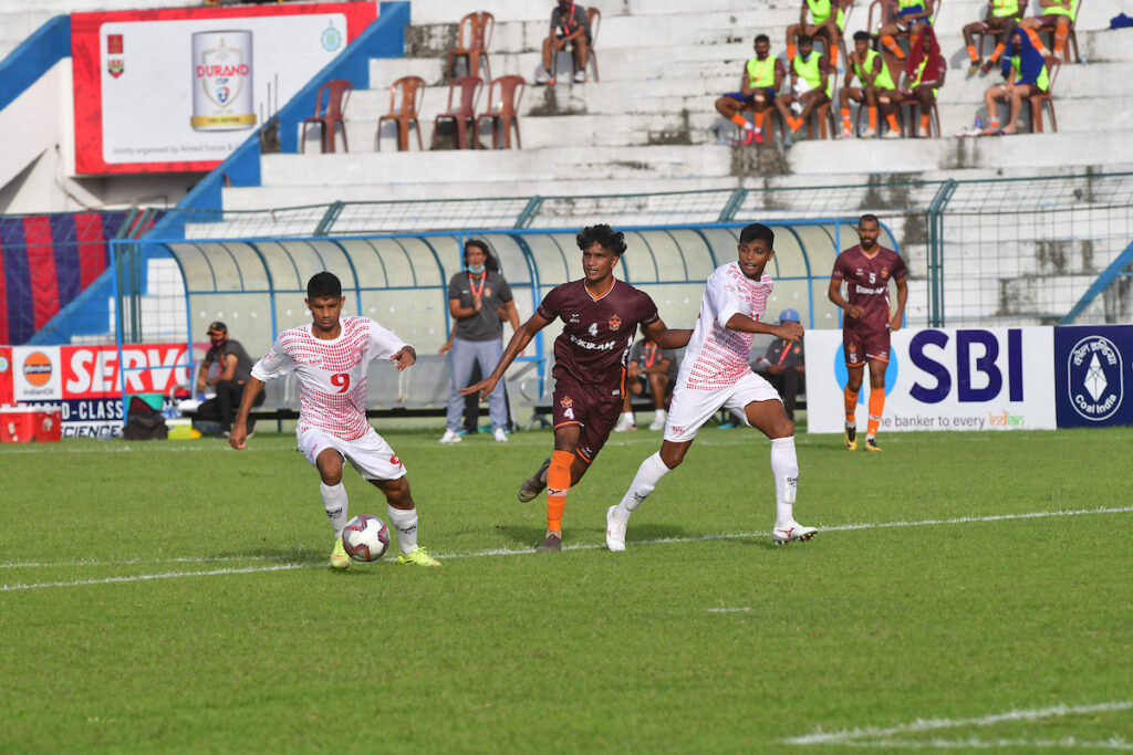 Defending Champions GKFC starts of their Durand Journey with a draw against Army Red!