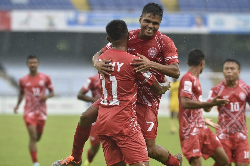Army Red stuns Hyderabad FC with a 2-1 win to enter QF